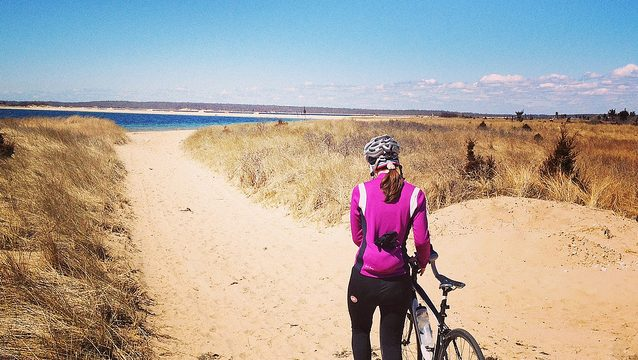biking long island