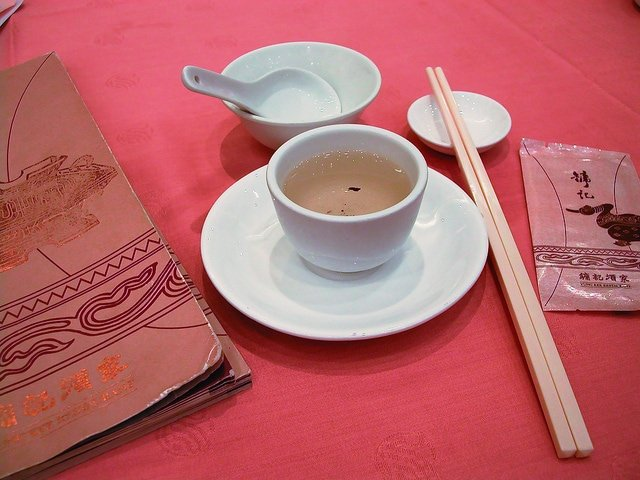 Dim Sum Etiquette: Pour tea for others before serving yourself.