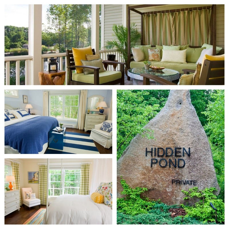 hidden pond rooms