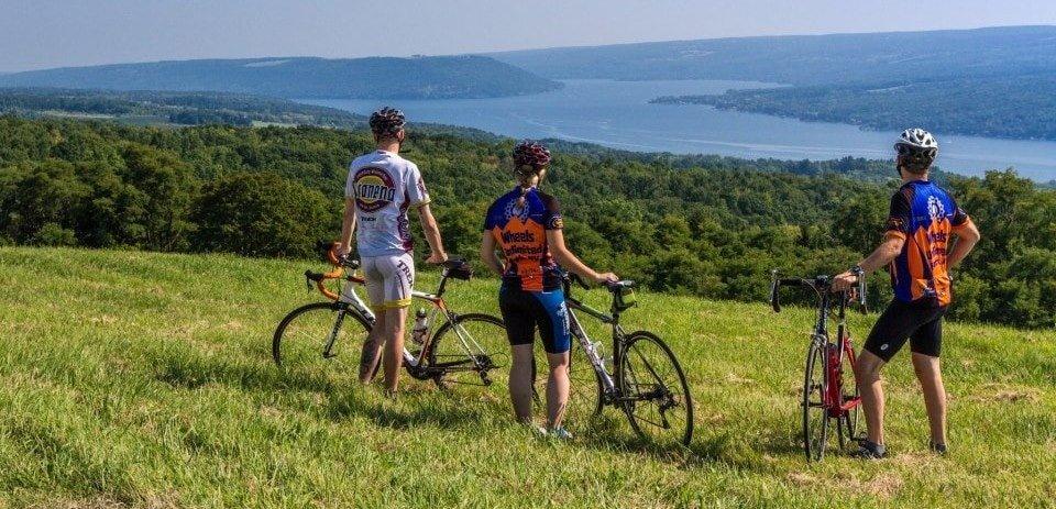 biking the finger lakes