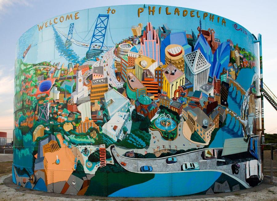 Philly art mural