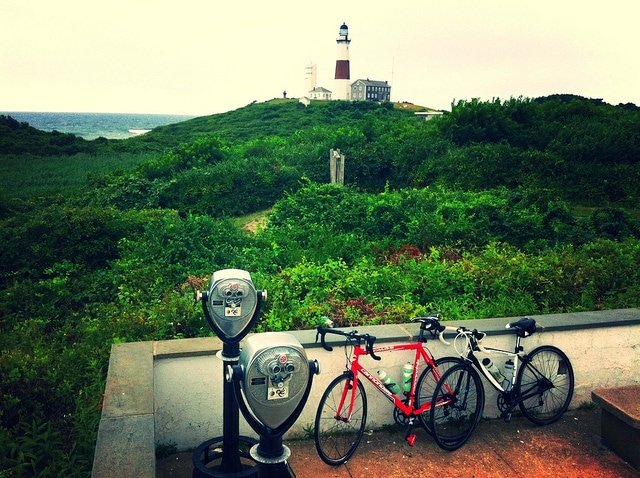 Montauk bike adventure