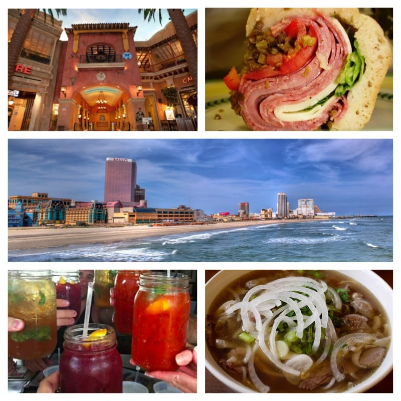 the best AC food and drink