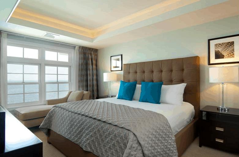 water's edge resort villa room