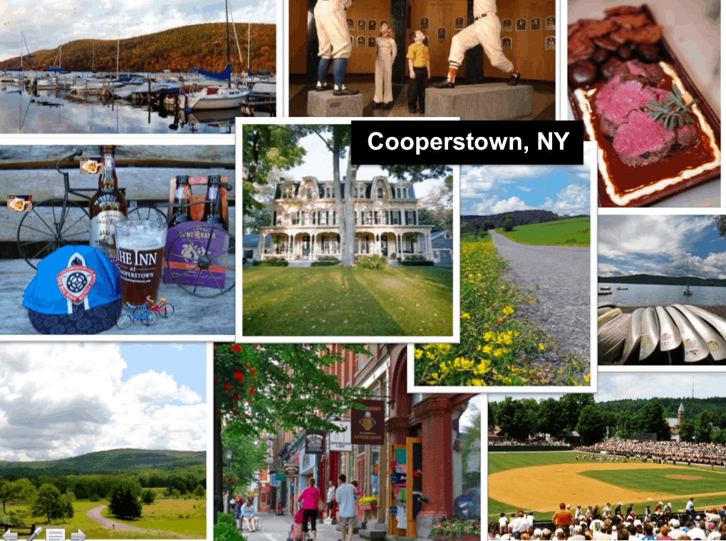 Cooperstown with family