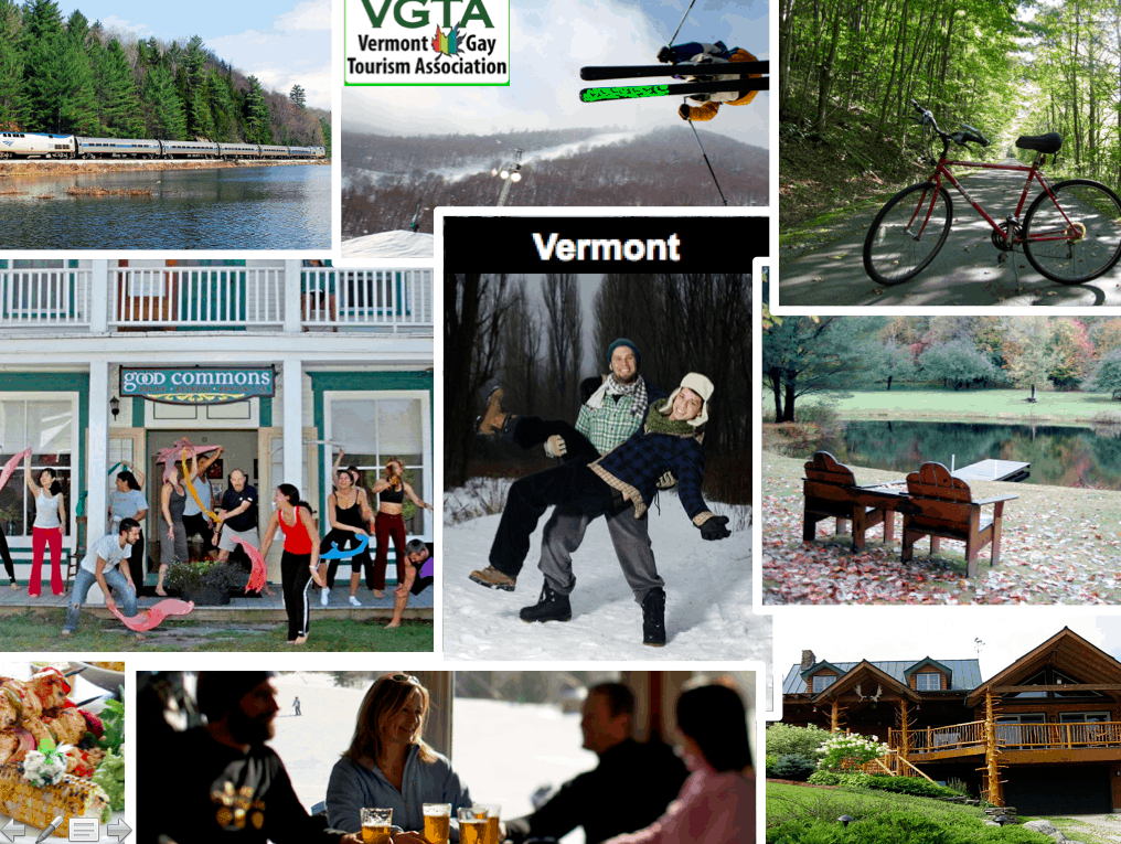 Gay times in Vermont