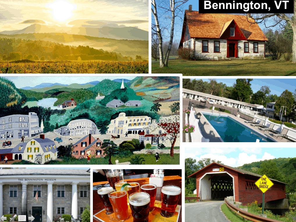 Budget getaway to Bennington
