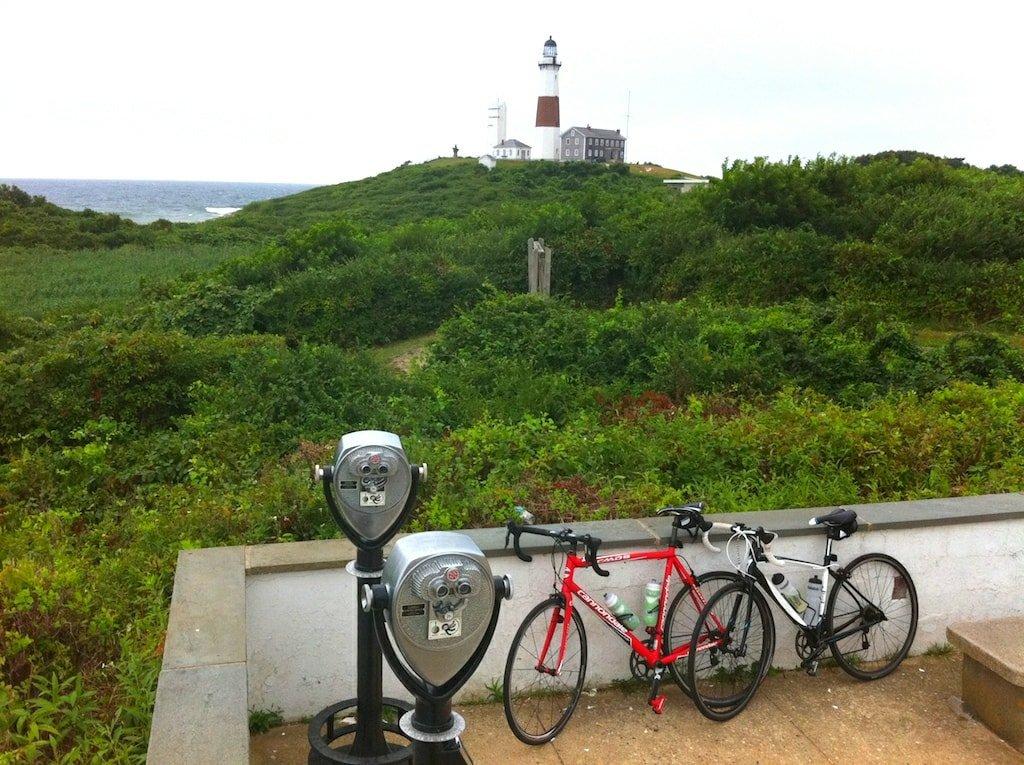 Biking Montauk