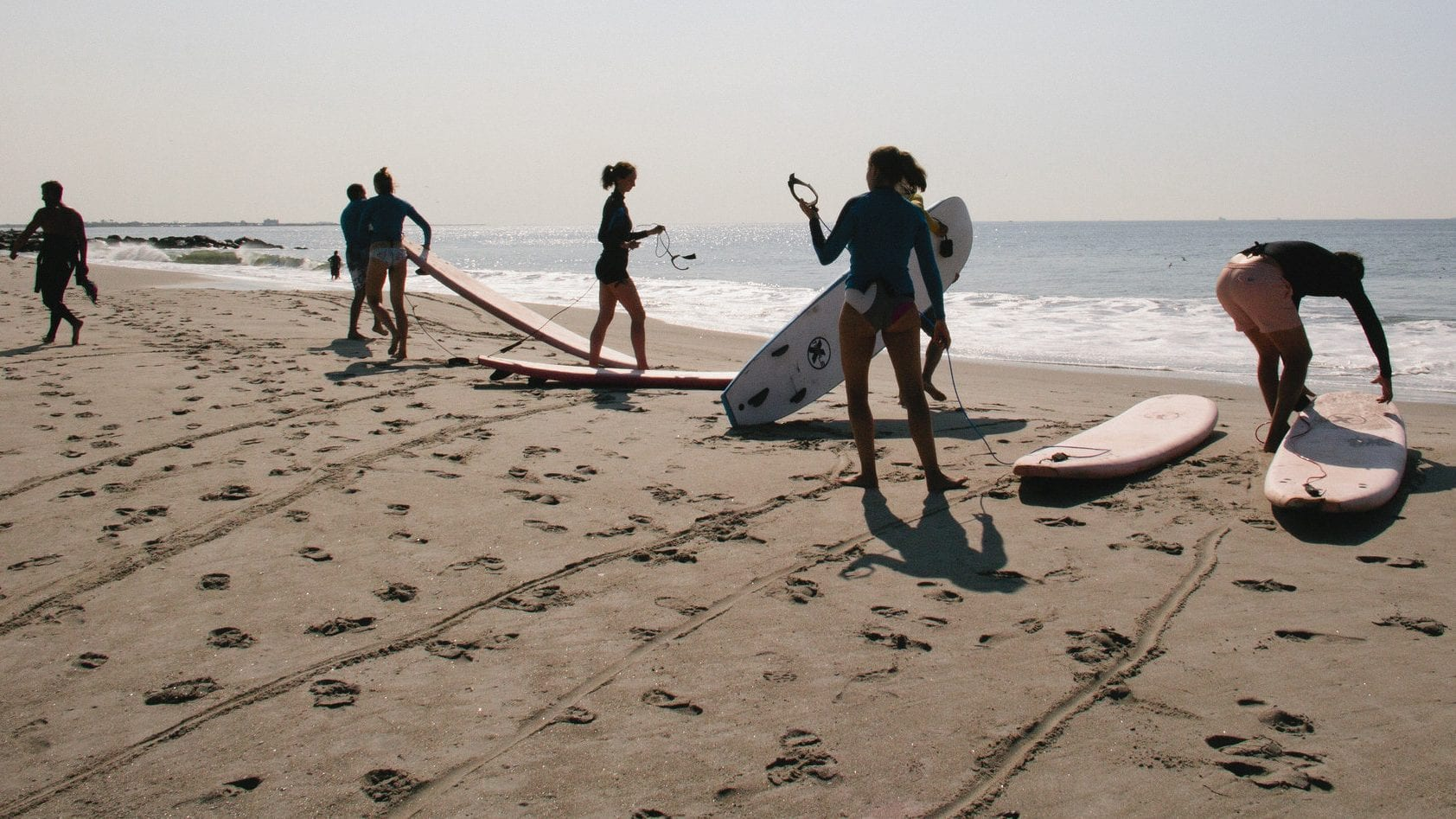 Surfing in the Rockaways