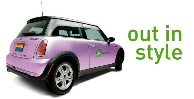 Pride Zipcar