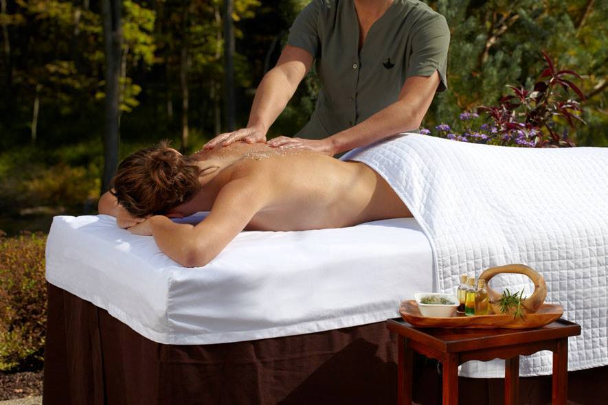 Woodloch spa massage