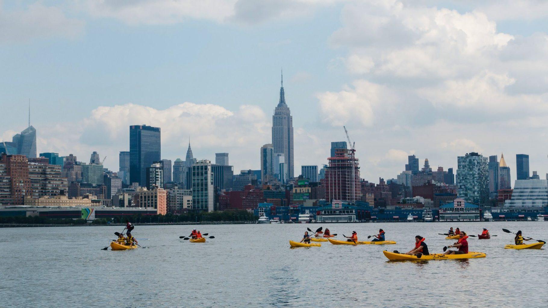 Manhattan Community Boathouse Kayaking