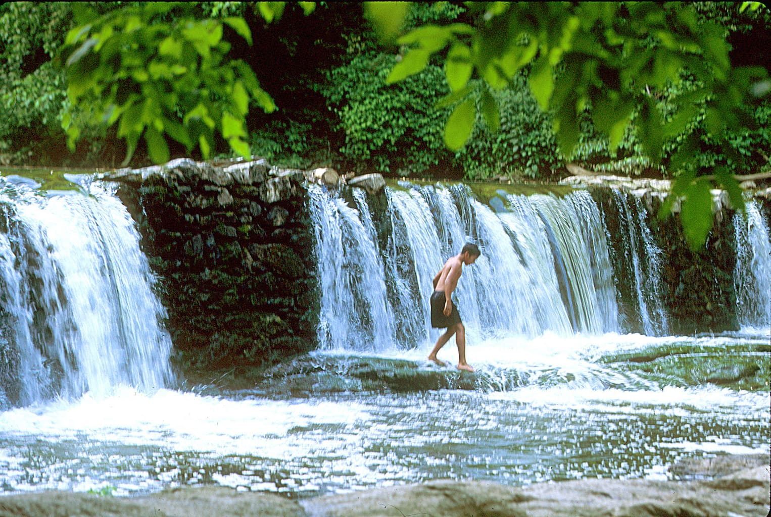 Part of Philadelphia's 4,400-acre Fairmount Park, Valley Green is located along the Wissahickon Creek. Visitors to the park often partake in fishing, biking and hiking activities.