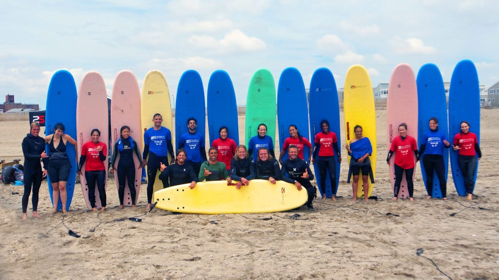 Rockaway Beach Surf by Dave Knapp