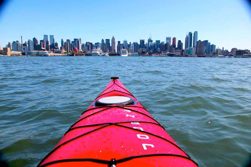 hudson river kayaking nyc