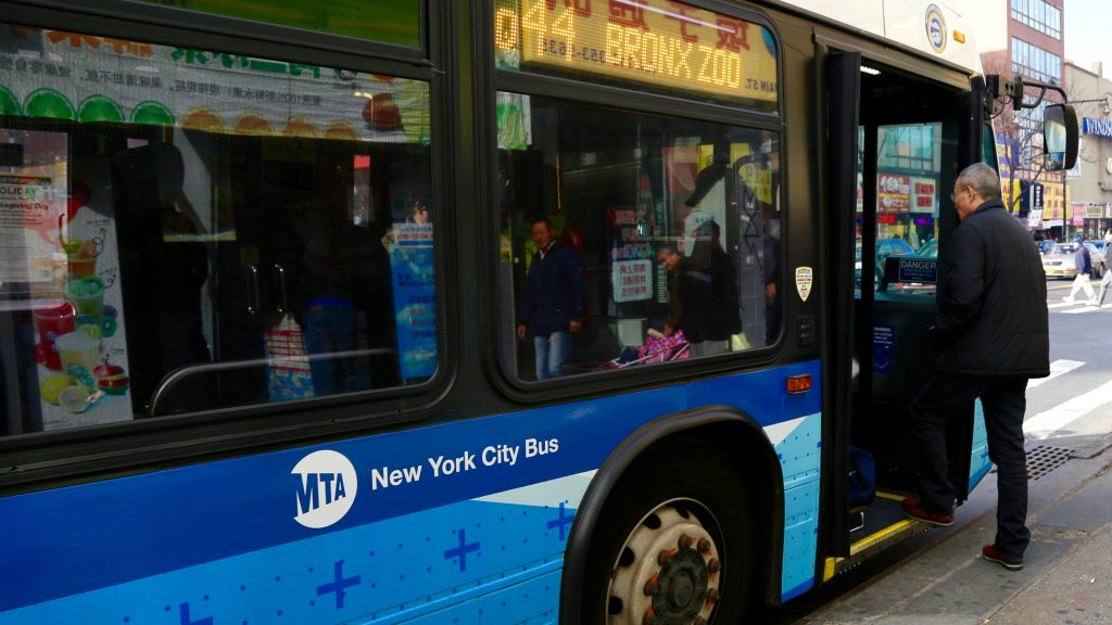 NYC MTA bus