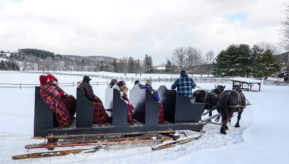 billings farm museum sleigh ride