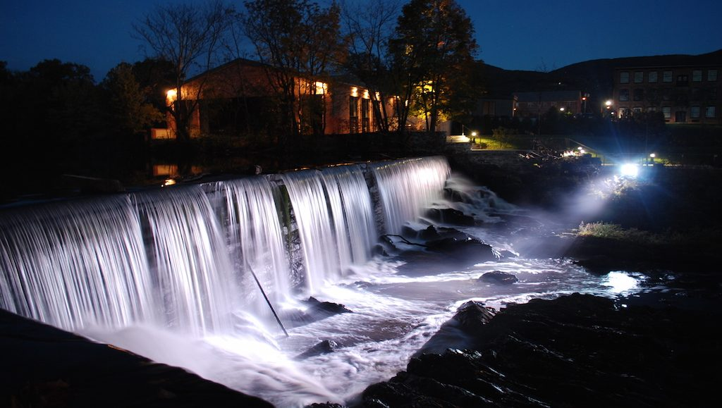 Beacon Falls at Night _ Courtesy of The Roundhouse