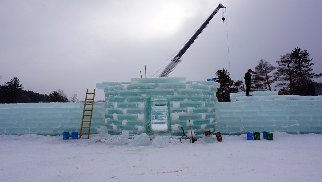 saranac lake winter carnival ice palace