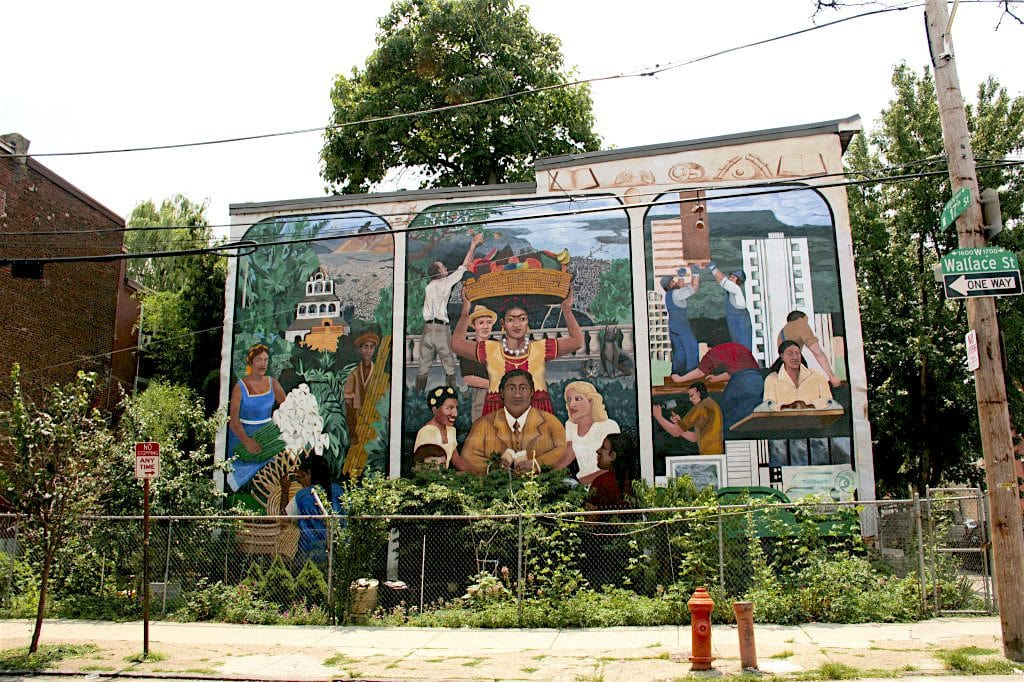 philly mural arts tour