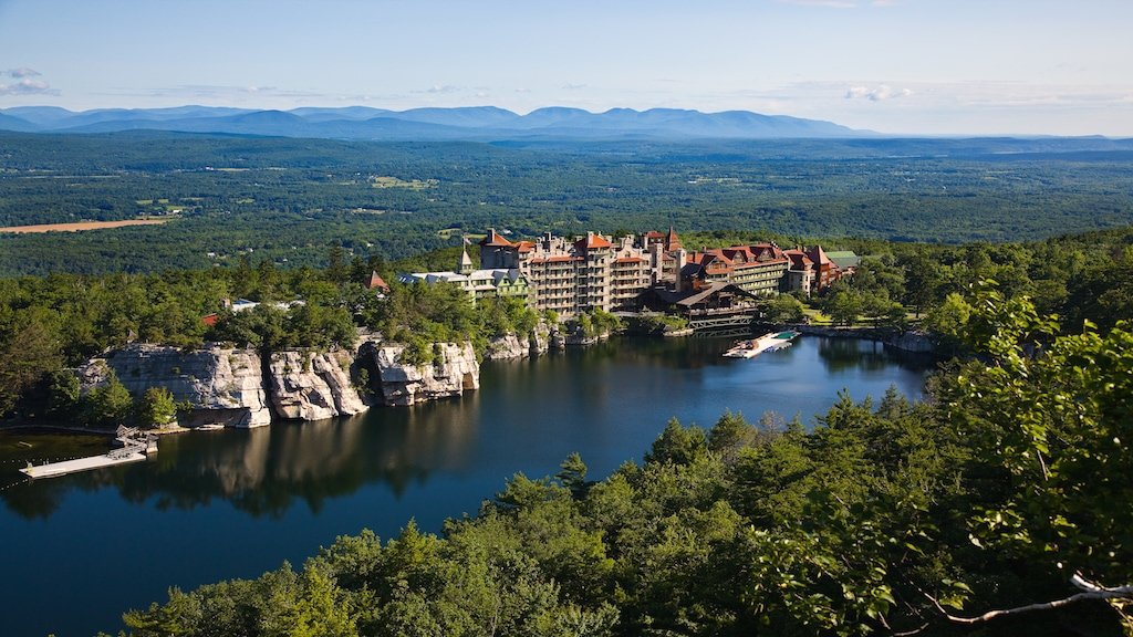 Aerial View Mohonk