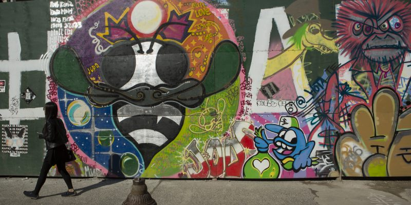 starr street art project bushwick street art of bee