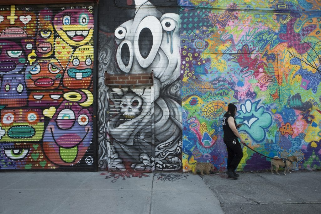 the bushwick collective street art