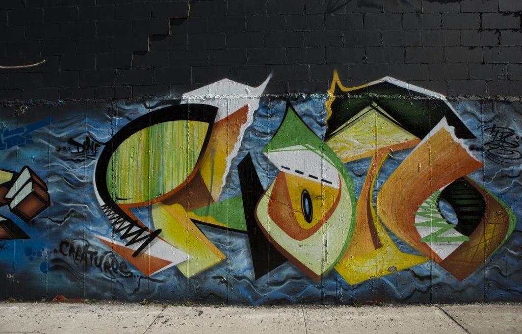 bushwick street art White Street to Moore Street davefoto
