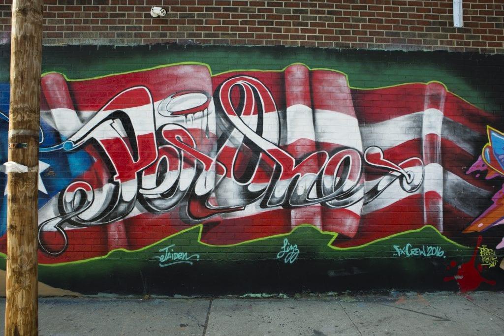 bushwick street art White Street to Moore Street puerto rico per one