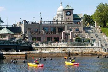 Kayaking in Providence