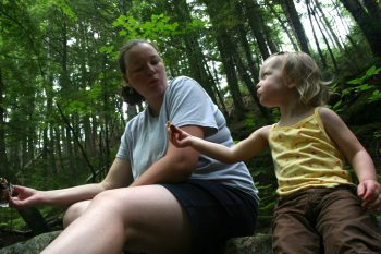 Family Hike north conway