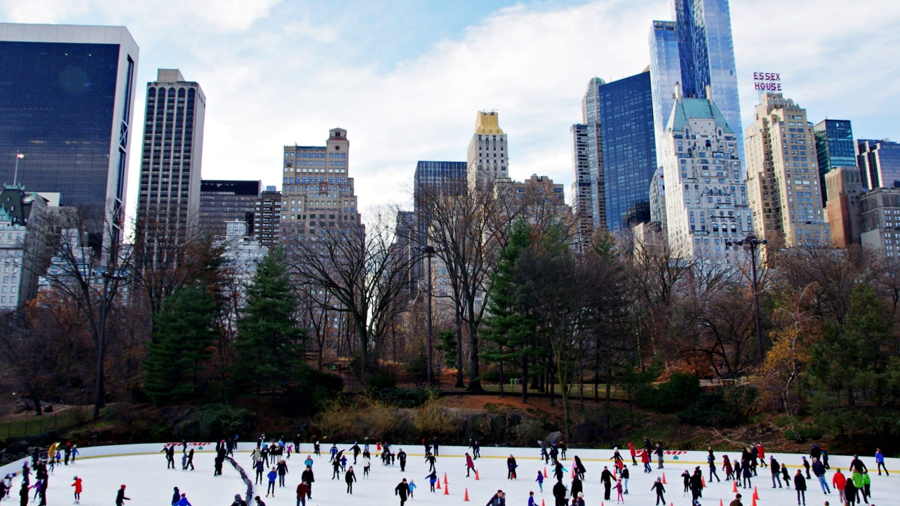 Ice Skating NYC by Sarah-Richter