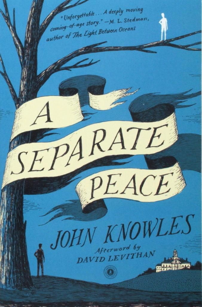 an escape from reality in a separate peace a novel by john knowles Ms tortorete a separate piece by john knowles learn to do with the theme of the novel by reality, unable to retain a sense of peace the way.
