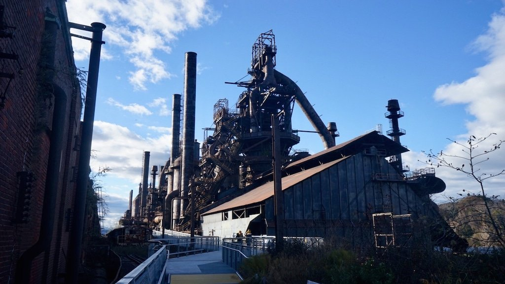 Steel mill Bethlehem Pennsylvania