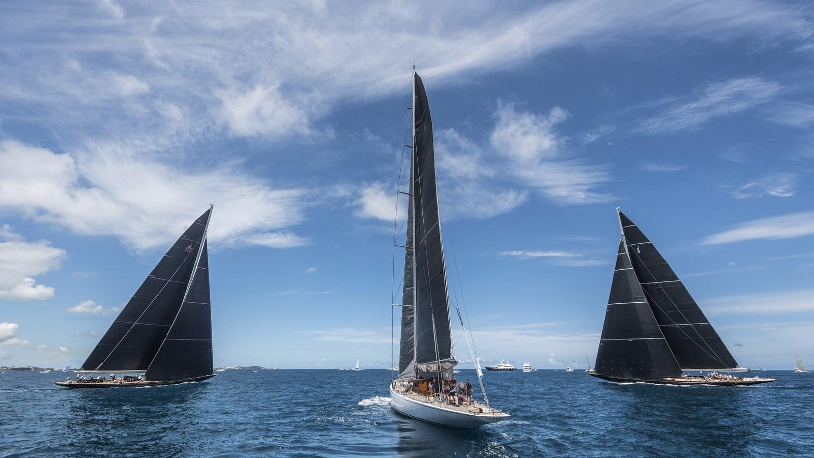 America's Cup Superyacht Regatta Bermuda Ricardo Pinto