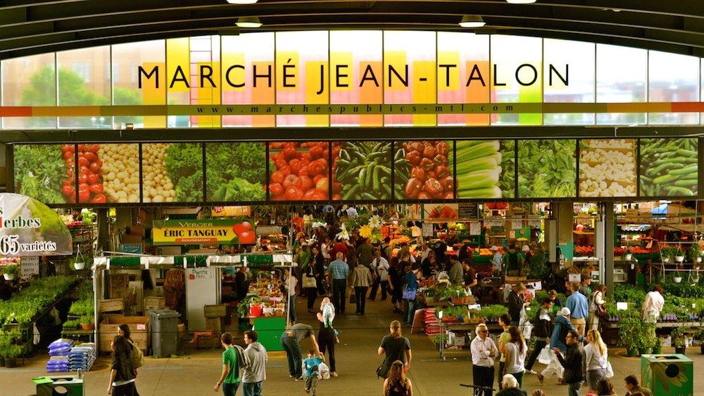 Marche Jean-Talon Montreal Food Market