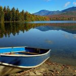 Clear Pond at Elk Lake Lodge by Gary Paige
