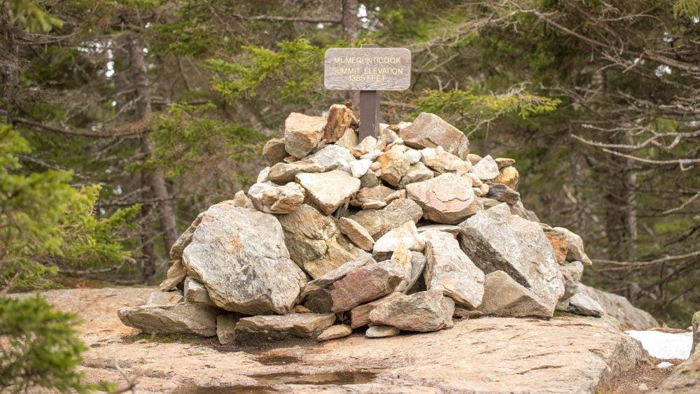 Camden_Maine_Mt. Megunticook_Summit
