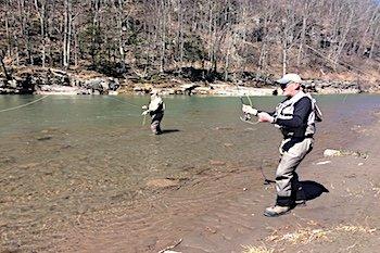 fly fishing esopus creek