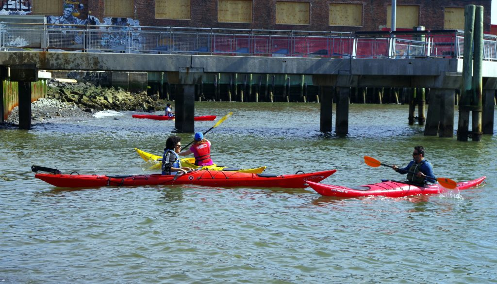 Red Hook Boaters Paddle Camille