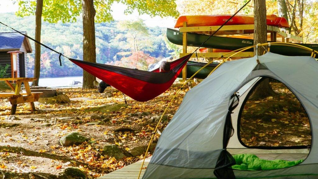 harriman camping