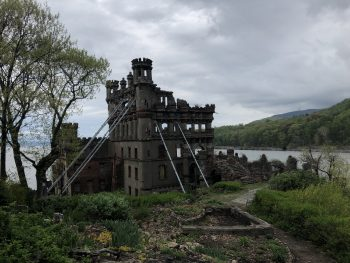 Bannerman Castle on the Hudson River