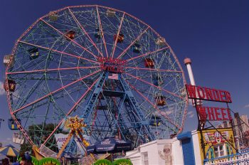 Cyclone ferris wheel at Coney Island