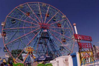 Cyclone ferris wheel at Coney Island