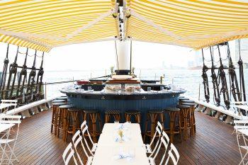 Pilot floating bar and restaurant