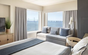 gurney's hotel room