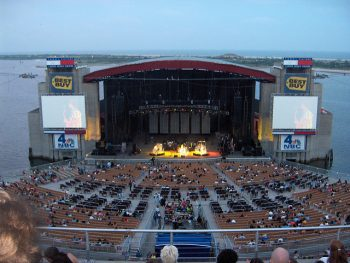 Jones Beach Amphitheater in Long Island