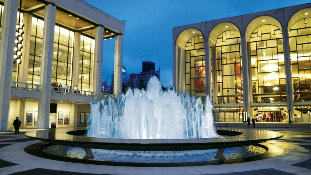 Lincoln Center Revson Fountain