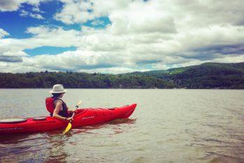 kayaking on the hudson constitution marsh