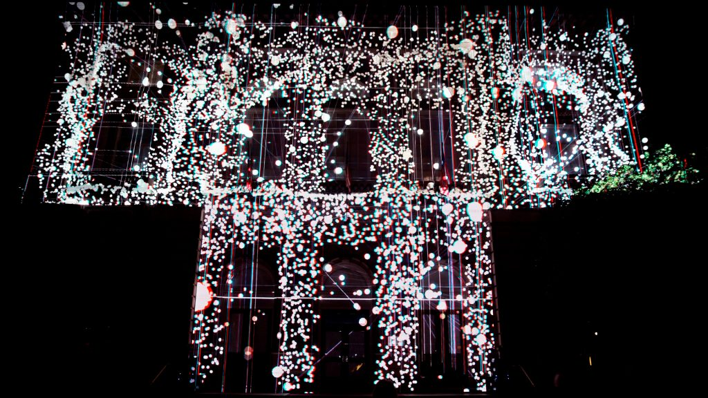 Projection art_illuminates_Binghamton_NY